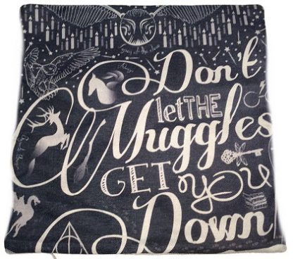Harry Potter Muggles Pillow Cover