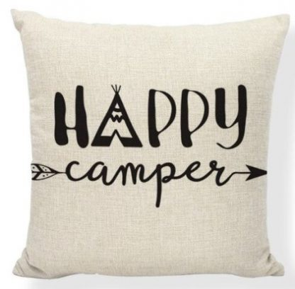 Happy Campers Pillow Cover #23