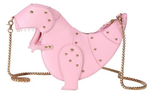 T-Rex Purse - Pink