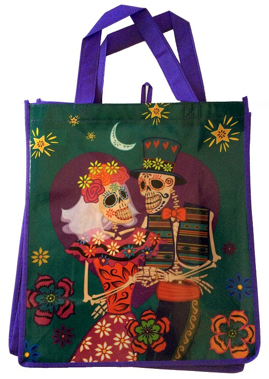 Day of the Dead Reusable Shopping Bag #2