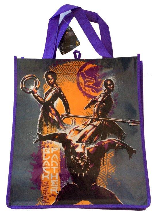 Black Panther Reusable Shopping Bag #1