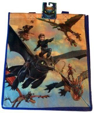 How To Train Your Dragon Reusable Shopping Bag