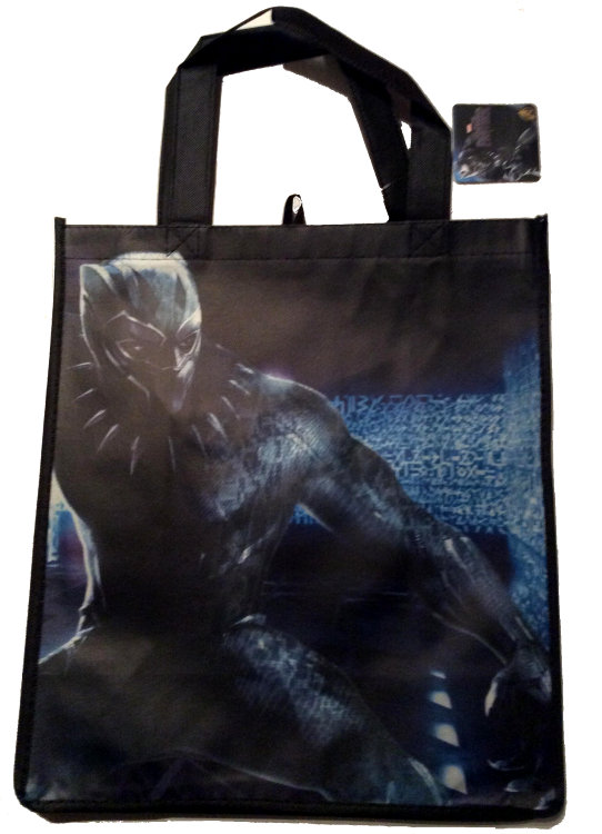 Black Panther Reusable Shopping Bag #3