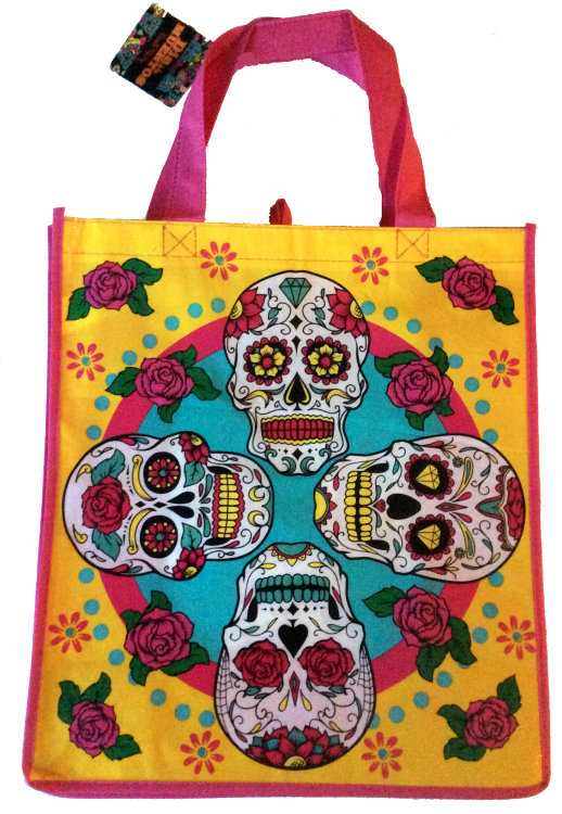 Day of the Dead Reusable Shopping Bag #04