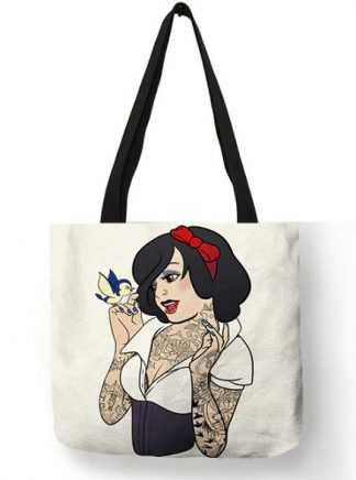 Naughty Princess Snow White Tote Bag #1
