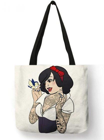 Naughty Princess Snow White Tote Bag #1