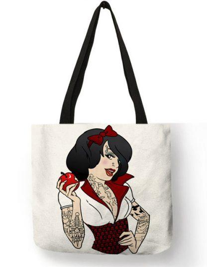Naughty Princess Snow White Tote Bag #2