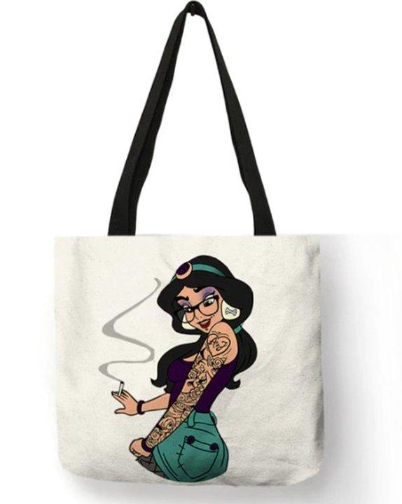 Naughty Princess Jasmine Tote Bag #1