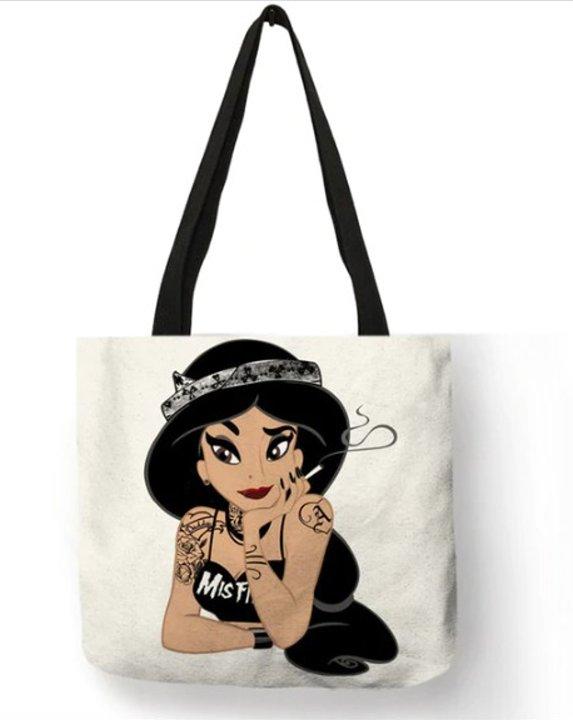 Naughty Princess Jasmine Tote Bag #2