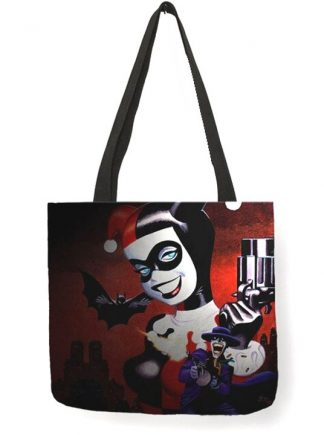Harley Quinn & The Joker Tote Bag #1