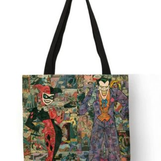 Harley Quinn & The Joker Tote Bag #2