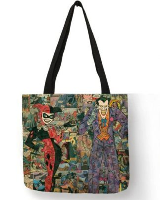 Harley Quinn & The Joker Tote Bag #2