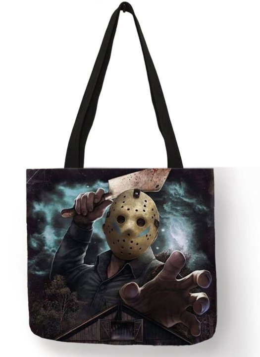 Friday the 13th Jason Voorhees Tote Bag