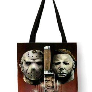 Horror Movie Triple Threat Tote Bag