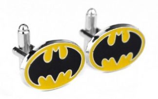 Batman Yellow Logo Cufflinks