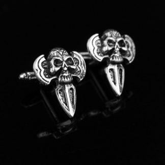 Skulls & Blades Cufflinks