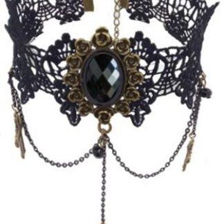 Gothic Lace Choker #7