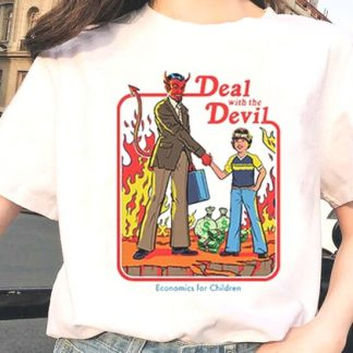 Activities For Children: Deal With The Devil T-Shirt