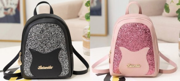 Sparkly Mini-Backpack