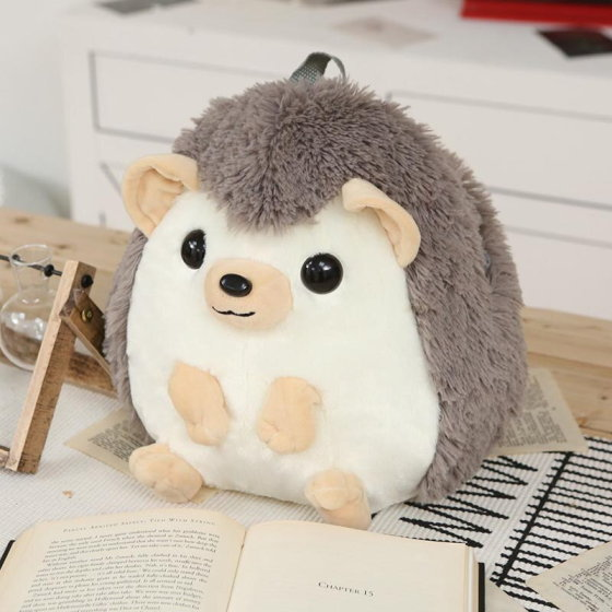 Hedgehog Plush Backpack
