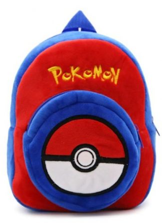 Pokemon Pokeball Plush Mini-Backpack