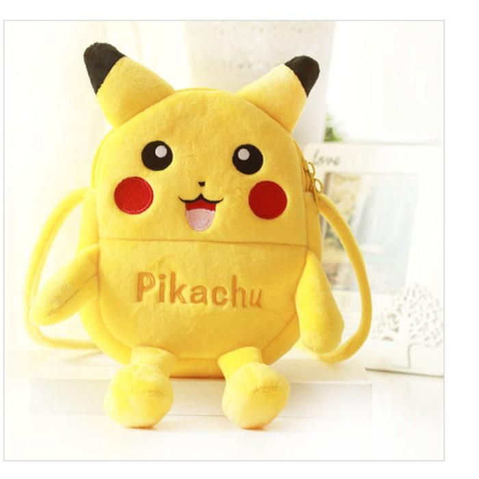 Pokemon Pikachu Plush Mini-Backpack #2