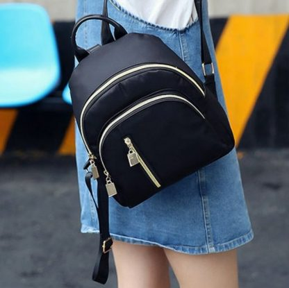 Oxford Water Resistant Midi Backpack