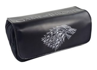 Game of Thrones House Stark Zip-Up Pouch
