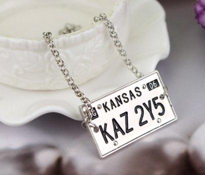 Supernatural Kansas Licence Plate Bracelet