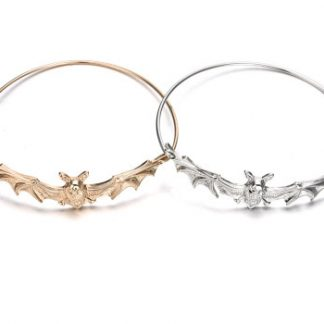 Batty Bangle Bracelet - Gold or Silver