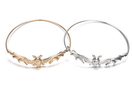 Batty Bangle Bracelet - Gold or Silver