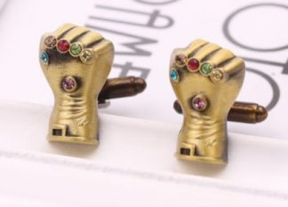 Marvel Avengers Thanos' Infinity Gauntlet Cufflinks