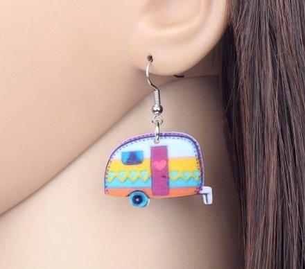 Happy Camper Earrings