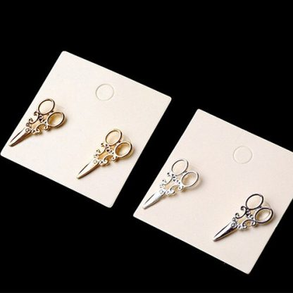Antique Scissors Earrings - Gold or Silver