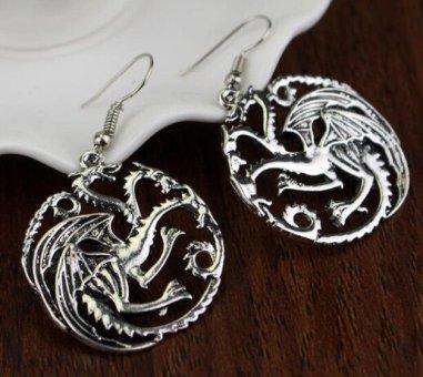 Game of Thrones Targaryen Dangle Earrings