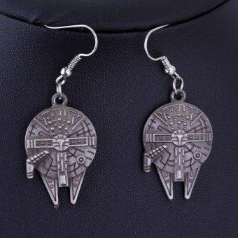Star Wars Millennium Falcon Dangle Earrings