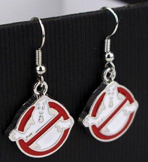 Ghostbusters Dangle Earrings