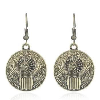 Fantastic Beasts MACUSA Dangle Earrings
