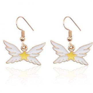 Anime Sailor Star Wings Dangle Earrings