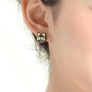 Anime Kitty Stud Earrings