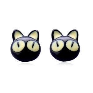Anime Kitty Stud Earrings