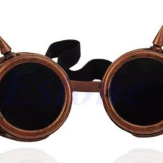 Goggles - Spiked Red Copper