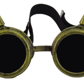 Goggles - Spiked Antique Copper