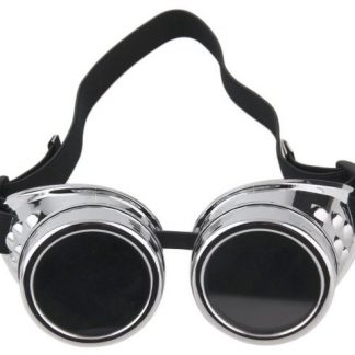 Goggles - Silver Flexible Style