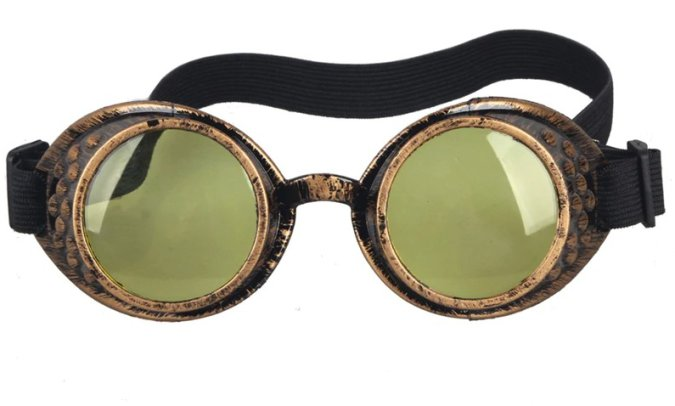 Goggles - Antique Copper with Neutral Lenses