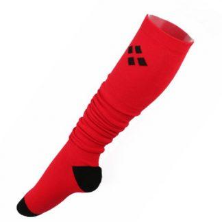 Harley Quinn Over The Knee Long Socks - Red