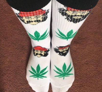 Cheech & Chong 420 Marijuana Crew Socks