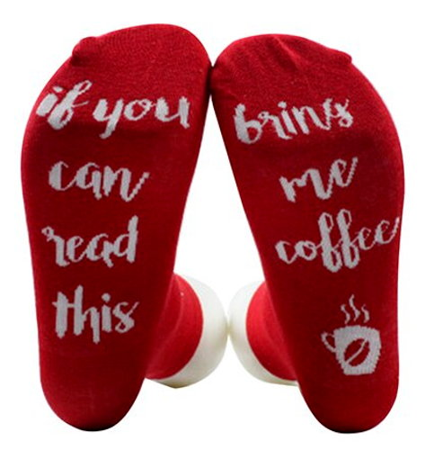 If You Can Read This Bring Me Coffee Socks