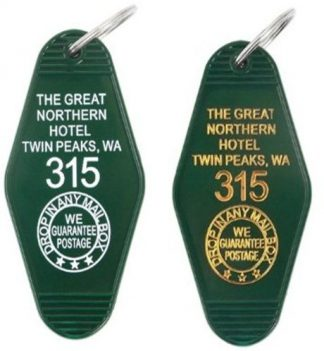 Twin Peaks Great Northern Hotel Room 315 Keychain