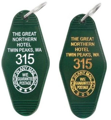 Twin Peaks Great Northern Hotel Room 315 Keychain